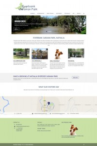 web design cRiverbank Caravan Parkoffs harbour